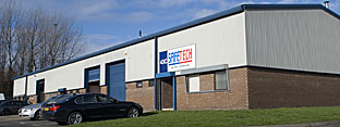 Safetech premises in Sunderland
