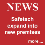NEWS: Safetech expand into new premises