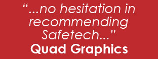 Testimonial from Quad/Graphics